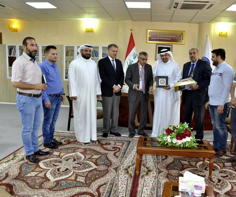 University of Basrah welcomes of a Kuwaiti writer