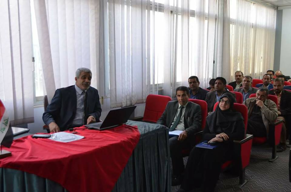 a-scientific-lecture-at-university-of-basrah-about-a-new-method-dqm-for-solve-flow-issues-of-2d