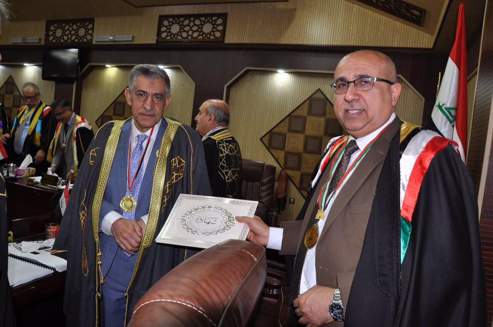 presidency-of-university-of-basrah-honors-the-colleges-of-agriculture-and-education-for-women-of-its-media-activity