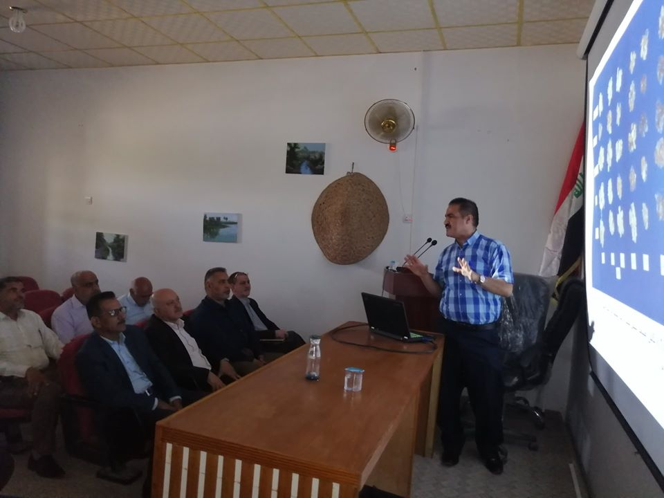 university-of-basrah-organizes-a-seminar-on-the-role-of-tissue-culture-in-assessing-the-tolerance-of-date-palm-tissue-to-salt-stress