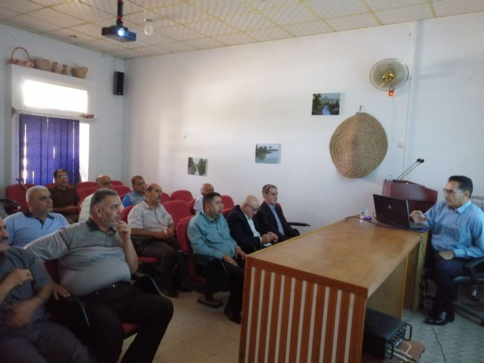 university-of-basrah-organizes-a-seminar-on-management-methods-of-soil-and-water-in-coping-with-the-problem-of-salinity-south-of-basrah