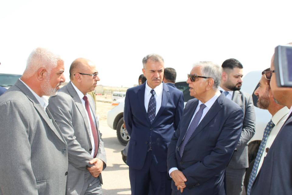 Faculty of Agriculture at the University of Basrah hosts the Minister of Oil